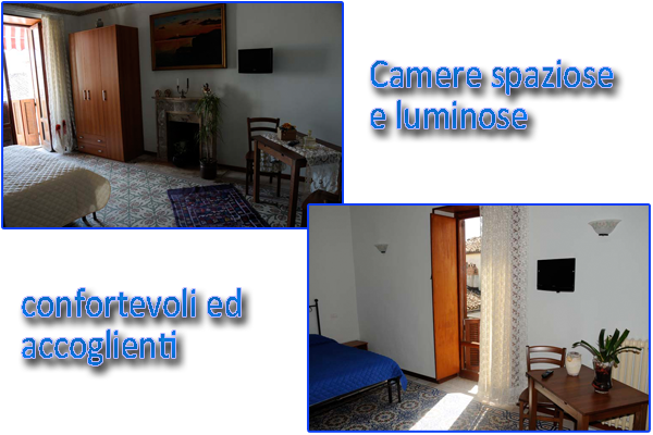 esterno del bed e breakfast